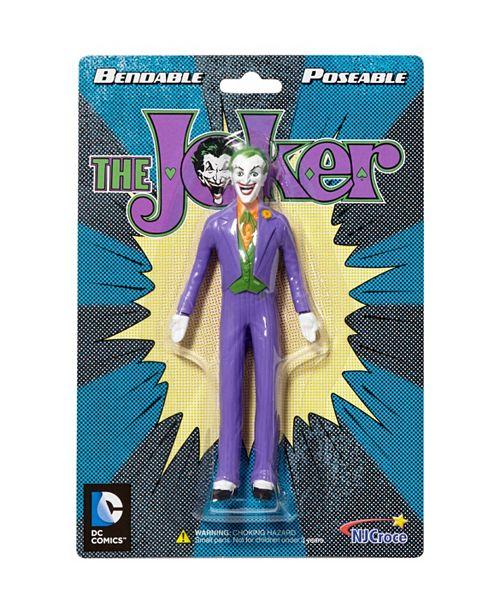 "DC Comics NJ Croce The Joker Classic 5.5"" Bendable Figure"