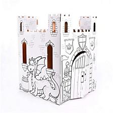 Fairy Tale Castle Cardboard Playhouse