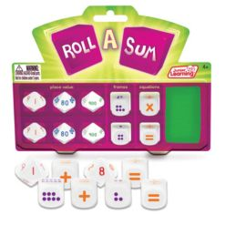 Junior Learning Roll a Sum Game & Develop Calculation and Counting Skills