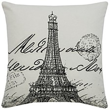 "18"" x 18"" Typography Down Filled Pillow"