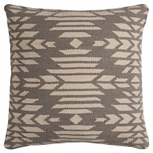 "Rizzy Home 20"" x 20"" Southwest Down Filled Pillow"