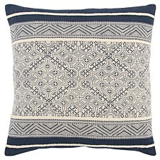 "Rizzy Home 20"" x 20"" Tribal Design Down Filled Pillow"