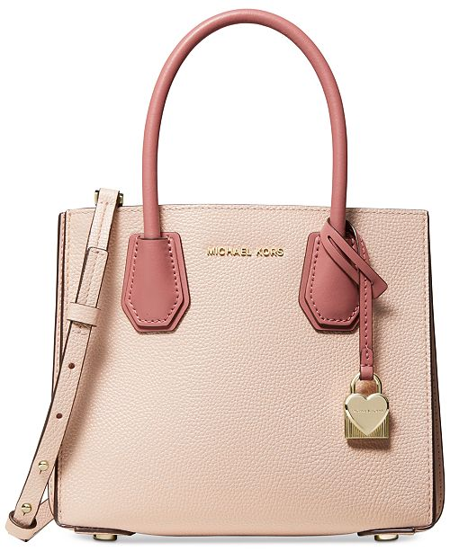 3caa974dc2e1 MICHAEL Michael Kors. Mercer Pebble Leather Crossbody. Be the first to  Write a Review