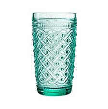 Jay Imports Bistro Ikat Hi Ball Glasses - Set of 4