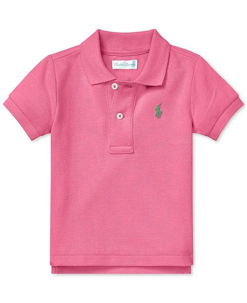 032b86c32 Polo Ralph Lauren Baby Boys Cotton Mesh Polo   Reviews - Shirts ...