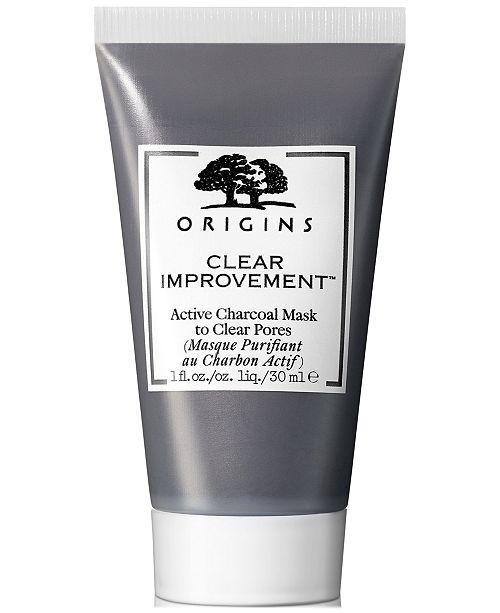 Origins Clear Improvement Active Charcoal Mask, 1-oz.