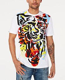 Sean John Men's Stamp Tiger Graphic T-Shirt