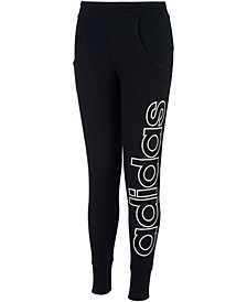 adidas Big Girls Linear Jogger Pants