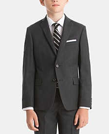 Big Boys Wool Suit Jacket