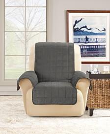 Sure Fit Deep Pile Velvet Furniture Protector