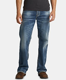 Silver Jeans Co. Men's Gordie Loose Straight-Fit Jeans