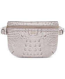 Brahmin Convertible Melbourne Embossed Leather Belt Bag