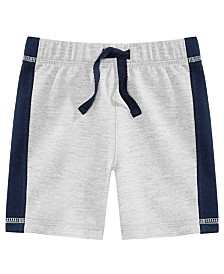 First Impressions Baby Boys Colorblocked Shorts, Created for Macy's