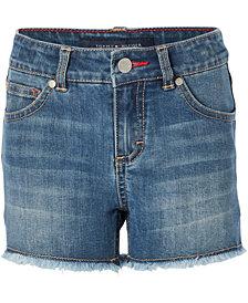 Tommy Hilfiger Embroidered Denim Shorts