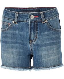 Tommy Hilfiger Embroidered Denim Shorts