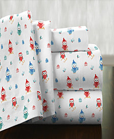 Pointehaven Superior Weight Cotton Flannel Sheet Set