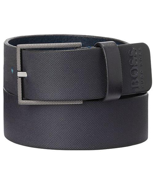 Hugo Boss HUGO Men's Trilos Italian Leather Belt
