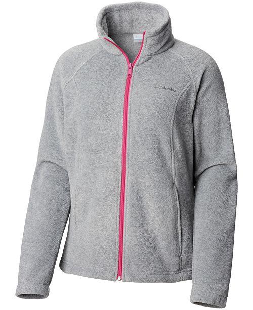 Columbia Petite Benton Springs Fleece Jacket