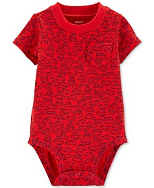 Carter's Baby Boys Cotton Car Bodysuit
