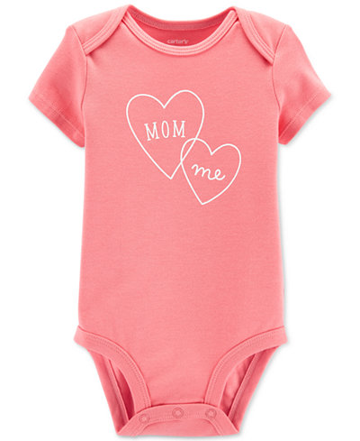 Carter's Baby Girls Graphic-Print Bodysuit