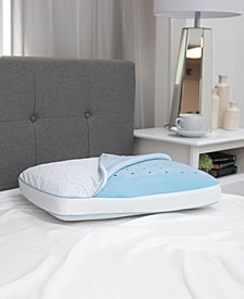 Arctic Gusset Gel-Infused Memory Foam Pillow with Cool Coat Technology Collection