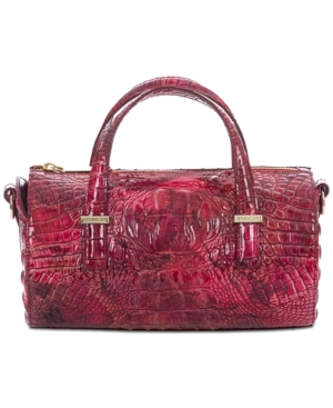 Image of Brahmin Claire Melbourne Embossed Leather Barrel Bag