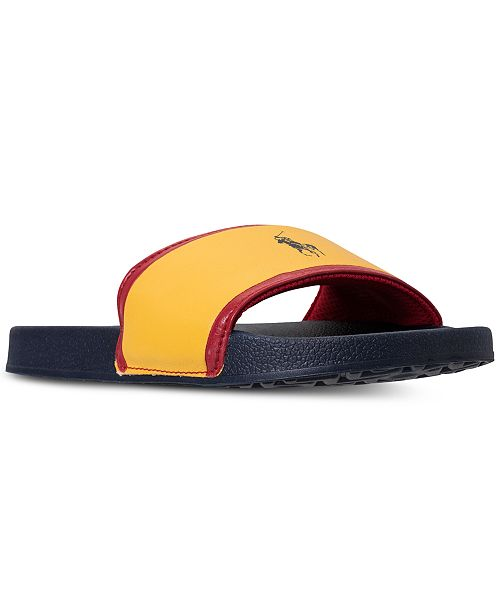 30775af0a03 Polo Ralph Lauren Boys  Quilton Slide Sandals from Finish Line ...