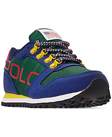 Polo Ralph Lauren Boys' Oryion Casual Sneakers from Finish Line