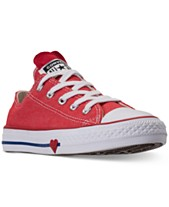 Converse Little Girls  Chuck Taylor All Star Ox Casual Sneakers from Finish  Line b8b7217a1
