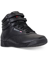 b3ac2b164d4 Reebok Women s Freestyle High Top Casual Sneakers from Finish Line