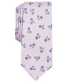 Bar III Men's Hobsons Floral Skinny Tie, Created for Macy's