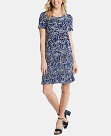 Karen Kane Printed T-Shirt Dress