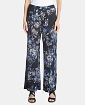 ccf6d372257 Karen Kane Floral-Print Wide-Leg Pants