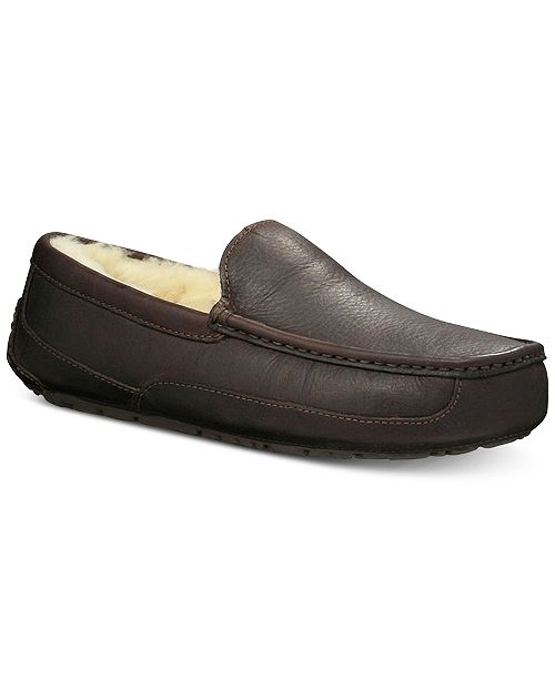 f38e4cb6baa UGG® Men's Ascot Slippers & Reviews - All Men's Shoes - Men - Macy's