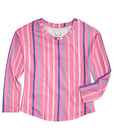 Belle Du Jour Big Girls Striped Top