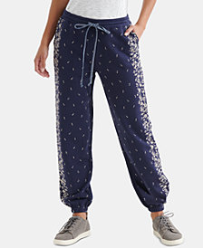 Lucky Brand Floral Placed Pants