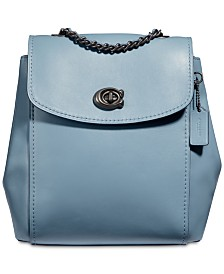 COACH Parker Convertible Backpack in Refined Leather