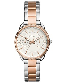 Fossil Women's Tailor Two-Tone Stainless Steel Bracelet Watch 35mm