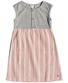 Roxy Little Girls Striped Dress