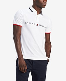 Men's Custom-Fit Tomas Graphic Polo, Created for Macy's