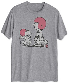 Peanuts Collection-s Players Men's Graphic T-Shirt