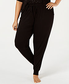 Jenni Plus Size Drawstring Pajama Pants, Created for Macy's