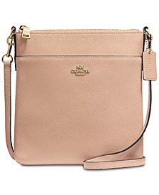 Messenger Crossbody in Crossgrain Leather