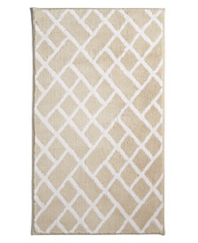 "Geo Cotton 22"" x 36"" Bath Rug, Created for Macy's"