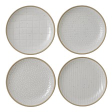 Royal Doulton Exclusively for Gordon Ramsay Maze Grill Mixed White Plates, Set of 4
