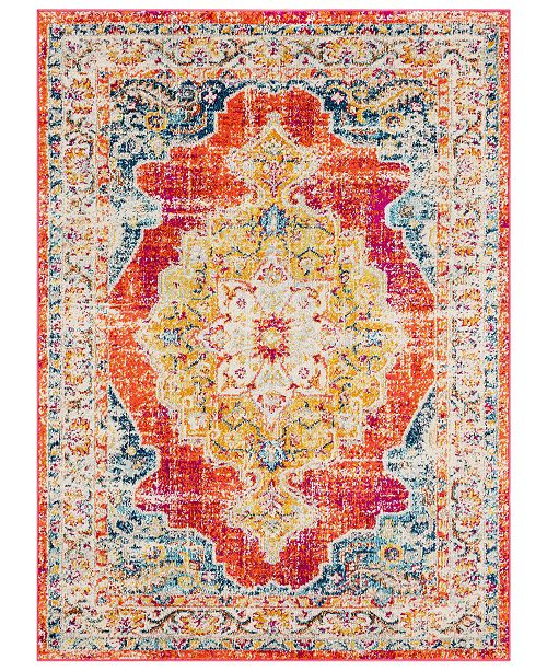 "Surya Morocco MRC-2306 Bright Orange 5'3"" x 7'3"" Area Rug"