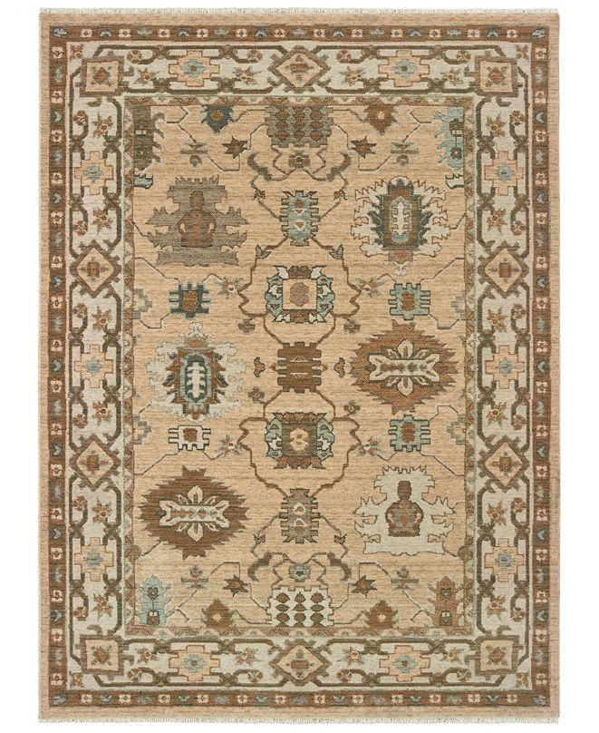 "Oriental Weavers Anatolia 530W3 Sand/Ivory 6'7"" x 9'6"" Area Rug"