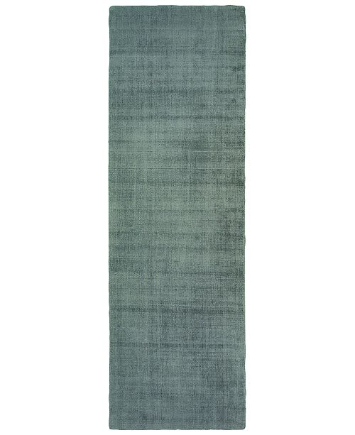 "Oriental Weavers Mira 35105 Green/Green 2'6"" x 8' Runner Area Rug"
