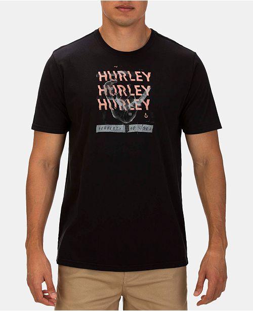 Hurley Men's BNZ Shaka Co Bra Graphic T-Shirt