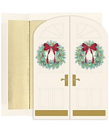 Holiday Doorway Holiday Boxed Cards, 16 Cards and 16 Envelopes
